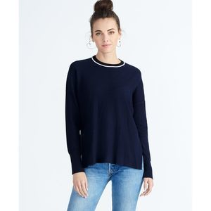 RACHEL Rachel Roy Sz M Luz Ribbed Navy Sweater